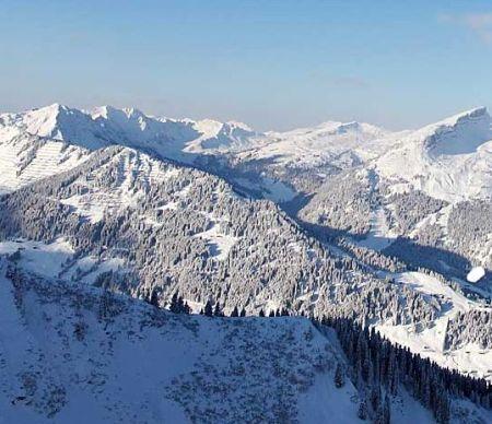 Lyžařská oblast Austria - fotografie