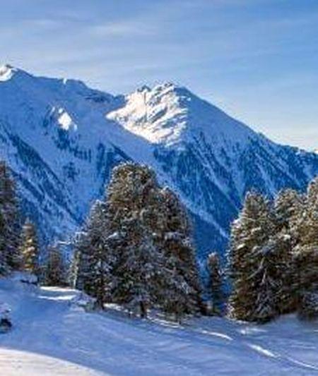 Lyžařská oblast Szwajcaria - fotografie
