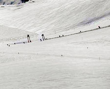 Lyžařská oblast Arosa - fotografie